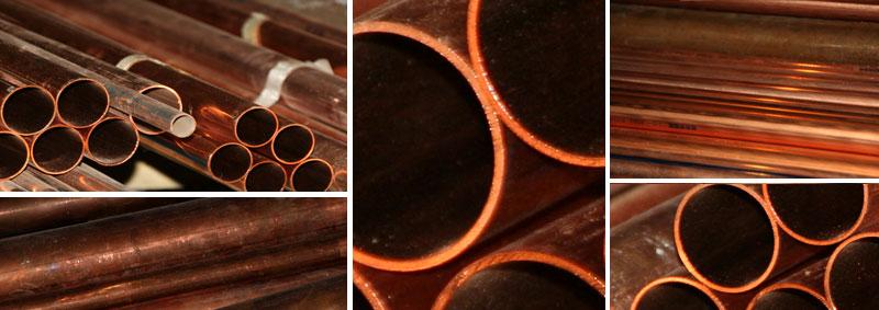 Copper Plumbing Materials